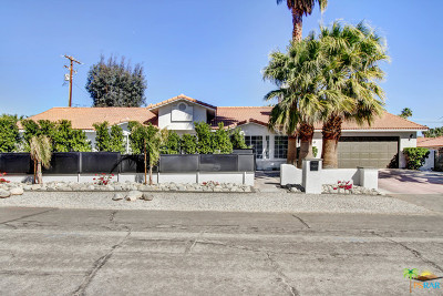 Palm Springs Single Family Home For Sale: 390 West Cortez Road