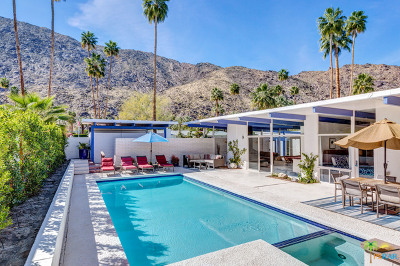 Palm Springs Single Family Home For Sale: 342 South Patencio Road