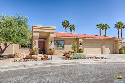 Palm Springs Single Family Home Contingent: 2380 Quincy Way