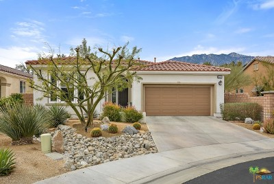 Palm Springs Single Family Home For Sale: 3472 Tranquility Way