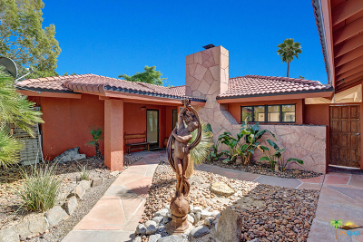 Palm Springs CA Single Family Home For Sale: $579,000