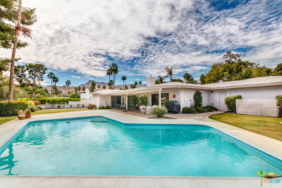Palm Springs Single Family Home Contingent: 2072 South Bobolink Lane