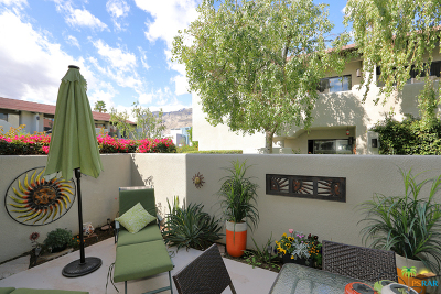 Palm Springs Condo/Townhouse For Sale: 1150 East Amado Road #19C1