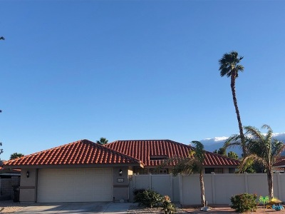 Palm Springs Single Family Home For Sale: 1483 East Gem Circle