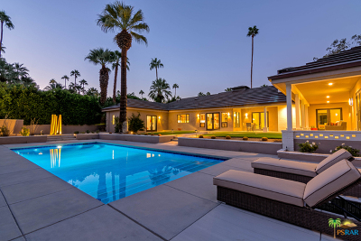 Palm Springs CA Single Family Home For Sale: $2,195,000