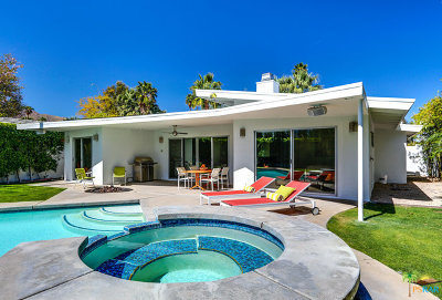 Palm Springs Single Family Home For Sale: 1175 East El Alameda
