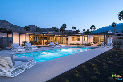 Palm Springs CA Single Family Home For Sale: $2,650,000