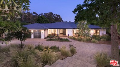 Malibu CA Single Family Home For Sale: $6,495,000