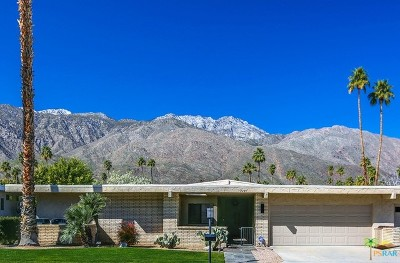 Palm Springs CA Condo/Townhouse Contingent: $525,000