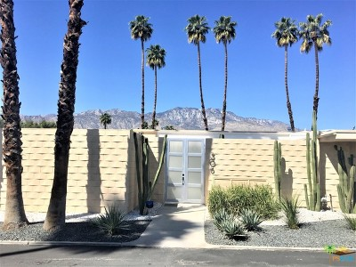 Palm Springs Condo/Townhouse For Sale: 306 Desert Lakes Drive