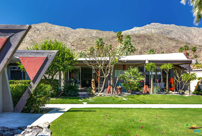 Palm Springs Condo/Townhouse Contingent: 217 East Twin Palms Drive