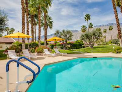 Palm Springs Condo/Townhouse Contingent: 1341 East Amado Road