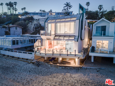 Malibu CA Single Family Home For Sale: $9,500,000