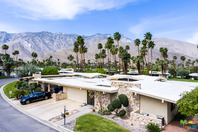 Palm Springs Condo/Townhouse Contingent: 2452 Paseo Del Rey