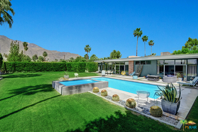 Palm Springs Single Family Home For Sale: 1400 Tamarisk Road