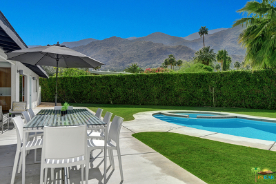Palm Springs Single Family Home For Sale: 680 East Morongo Road