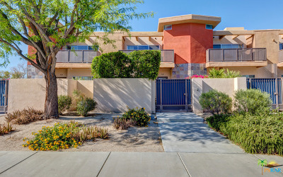 Palm Springs Condo/Townhouse For Sale: 1504 North Via Miraleste