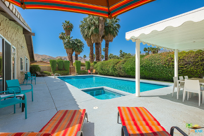 Palm Springs Single Family Home Contingent: 3306 East San Martin Circle