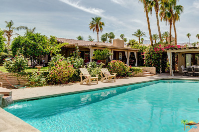 Palm Desert Single Family Home For Sale: 73600 Siesta