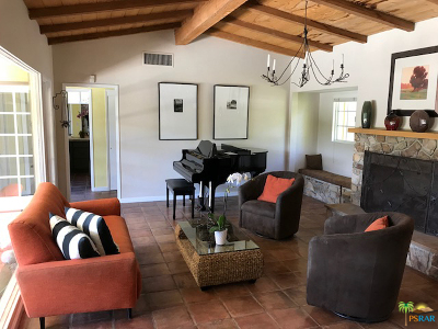 Palm Springs Single Family Home For Sale: 1387 East Verbena Drive