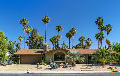 Palm Springs Single Family Home For Sale: 3576 East Escoba Drive
