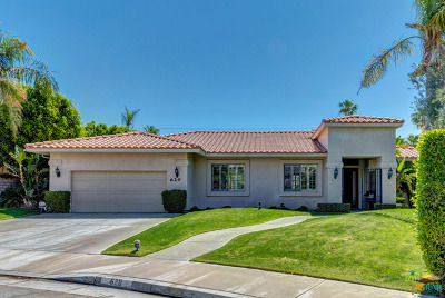 Palm Springs Single Family Home For Sale: 620 Quincy Way