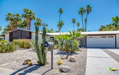 Palm Springs Single Family Home For Sale: 206 North Burton Way