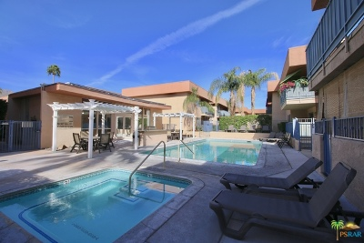 Palm Springs Condo/Townhouse For Sale: 400 North Sunrise Way #269