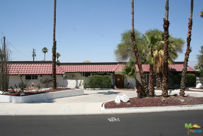 Cathedral City Single Family Home Contingent: 68364 Treasure
