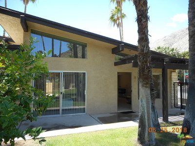 Palm Springs Condo/Townhouse Contingent: 290 South San Jacinto Drive #8
