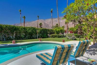 Palm Springs Single Family Home For Sale: 1031 East El Conquistador