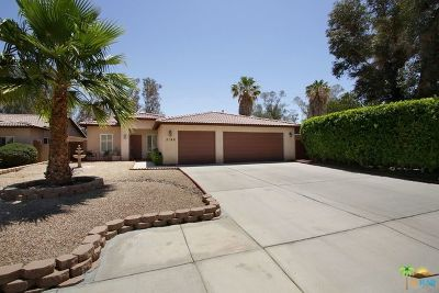 Palm Springs Single Family Home For Sale: 2196 Marguerite Street
