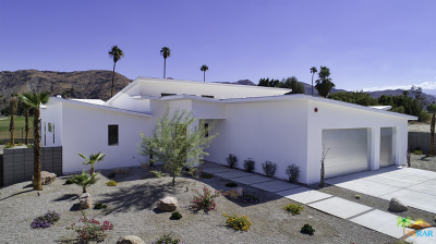 Palm Springs Single Family Home Contingent: 2740 South Sierra Madre