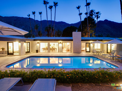 Palm Springs Single Family Home For Sale: 834 North Rose Avenue