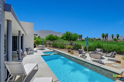 Palm Springs Single Family Home For Sale: 4495 Vantage Lane