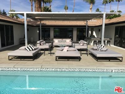 Palm Springs CA Single Family Home For Sale: $1,500,000