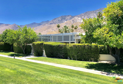 Palm Springs Single Family Home Contingent: 2470 South Sierra Madre