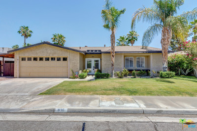 Cathedral City, Palm Springs Rental For Rent: 836 Arroyo Vista Drive