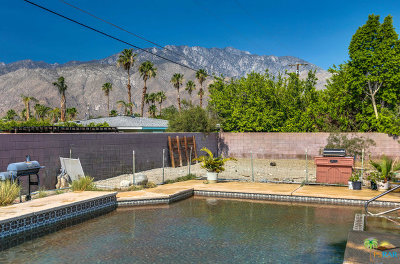 Palm Springs Single Family Home For Sale: 2405 East Francis Drive