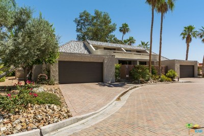Palm Springs Condo/Townhouse For Sale: 122 East Perlita Circle