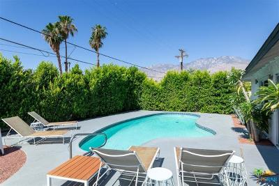 Palm Springs Single Family Home Contingent: 3833 East Calle San Antonio