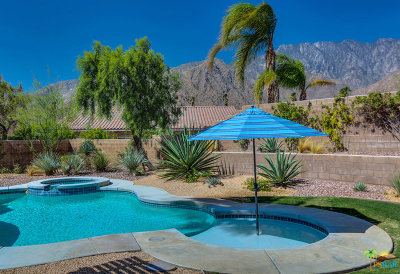 Palm Springs Single Family Home For Sale: 3639 Mountain Gate