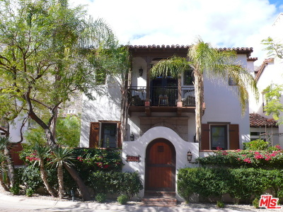 Palm Springs Condo/Townhouse For Sale: 257 Calle La Soledad