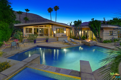 Palm Springs Single Family Home For Sale: 1680 East Murray Canyon Drive