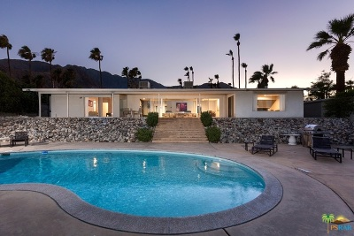 Palm Springs Single Family Home For Sale: 2360 North Janis Drive