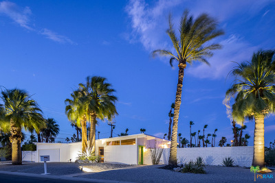 Palm Springs Single Family Home For Sale: 2110 North Starr Road