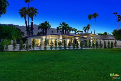Palm Springs Single Family Home For Sale: 2090 South Brentwood Drive