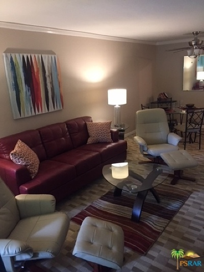 Palm Springs CA Condo/Townhouse For Sale: $129,500