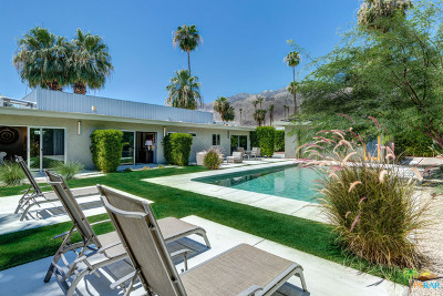 Palm Springs Single Family Home For Sale: 1054 East San Lucas Road
