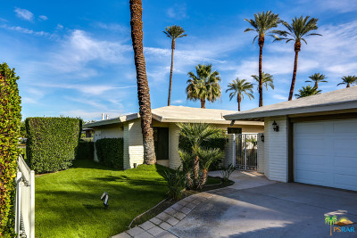 Rancho Mirage Single Family Home Contingent: 36830 Pinto Palm Street